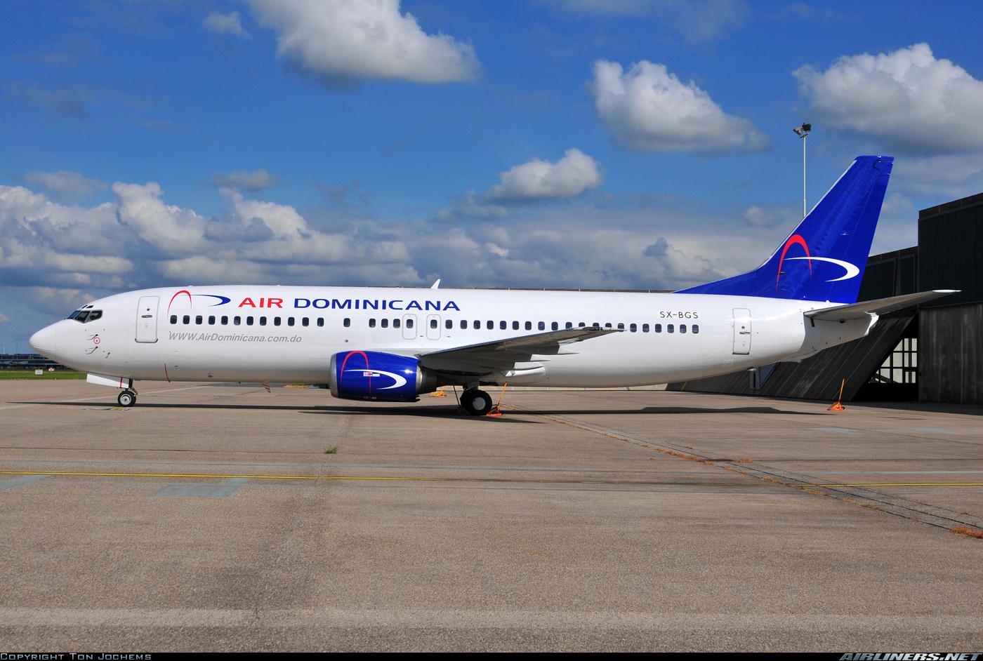Фото доминиканского самолета