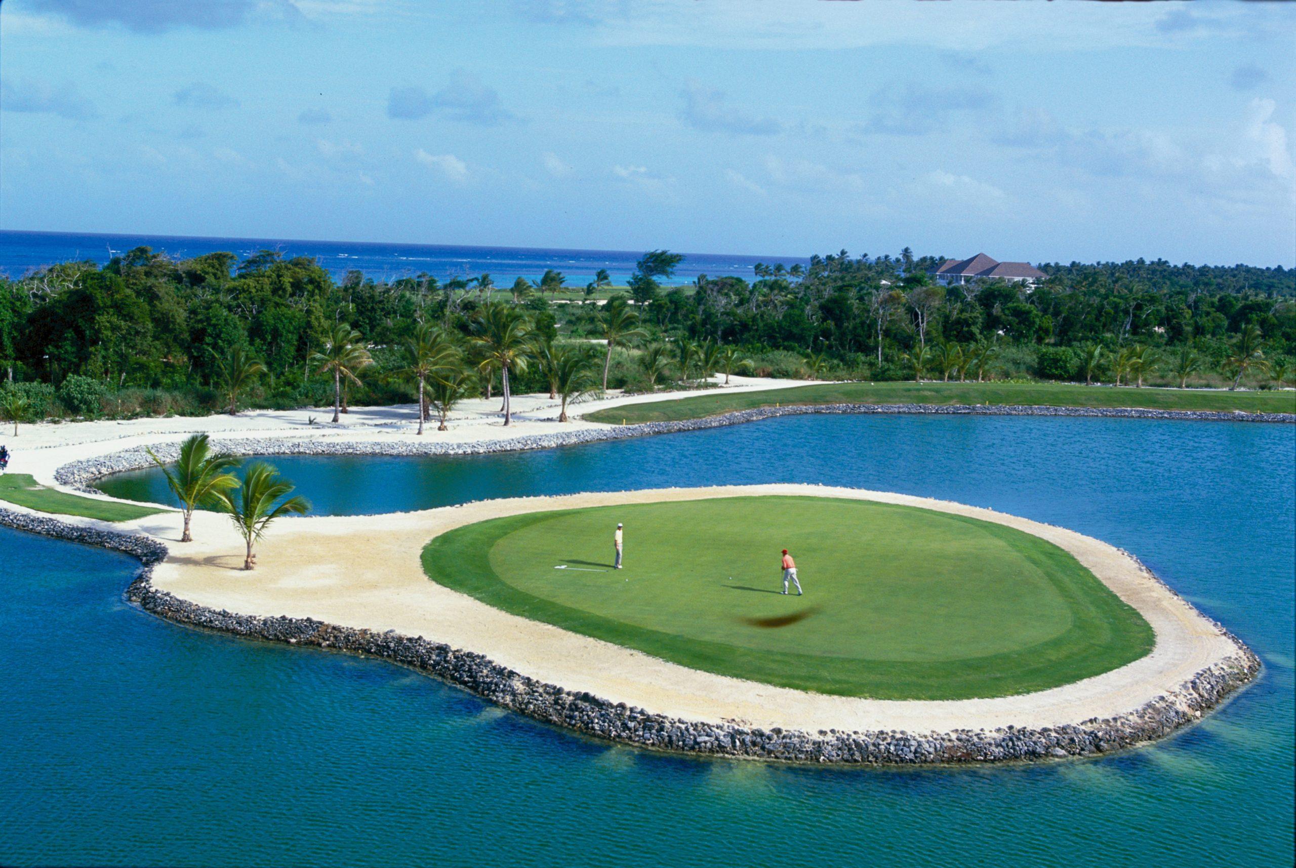 Фот поля для гольфа