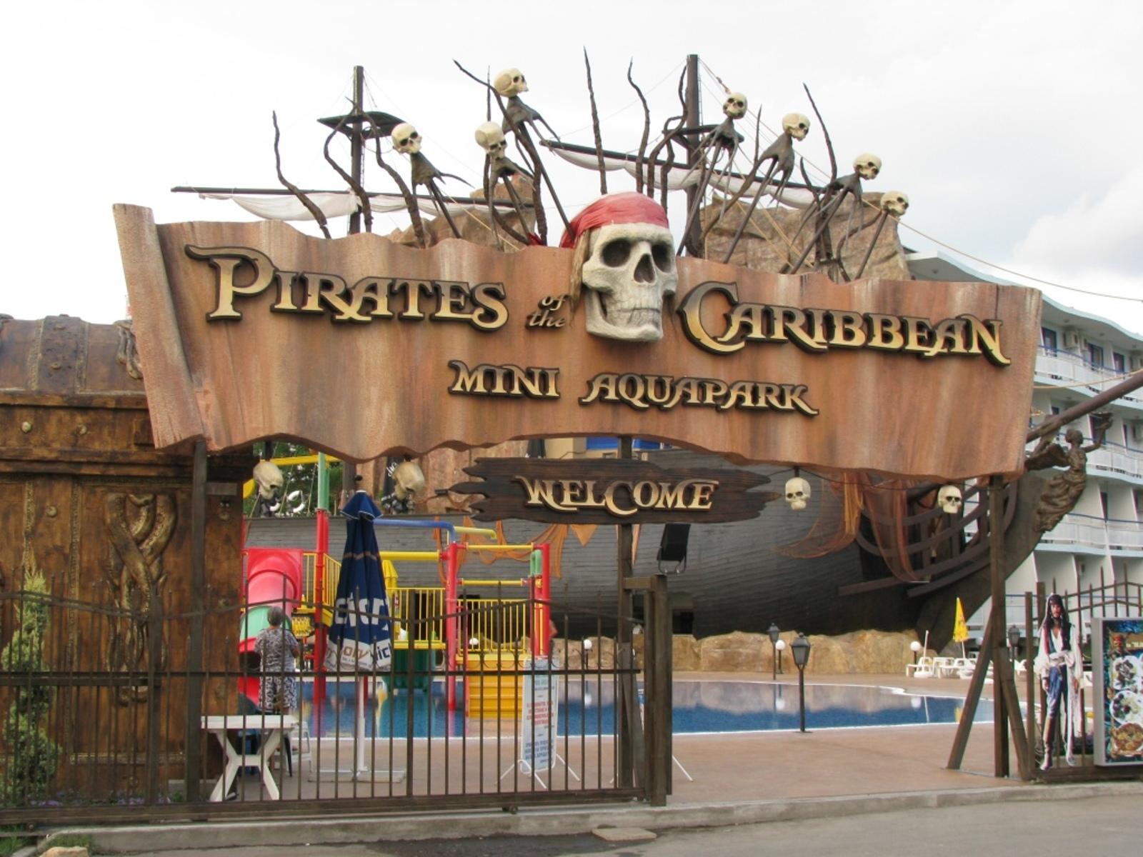 Фото пиратского развлекательного парка