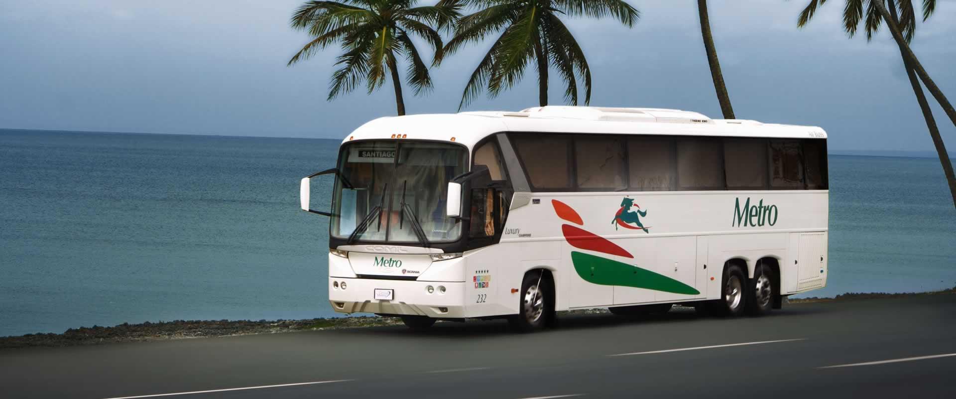 Фото автобуса в Доминикане