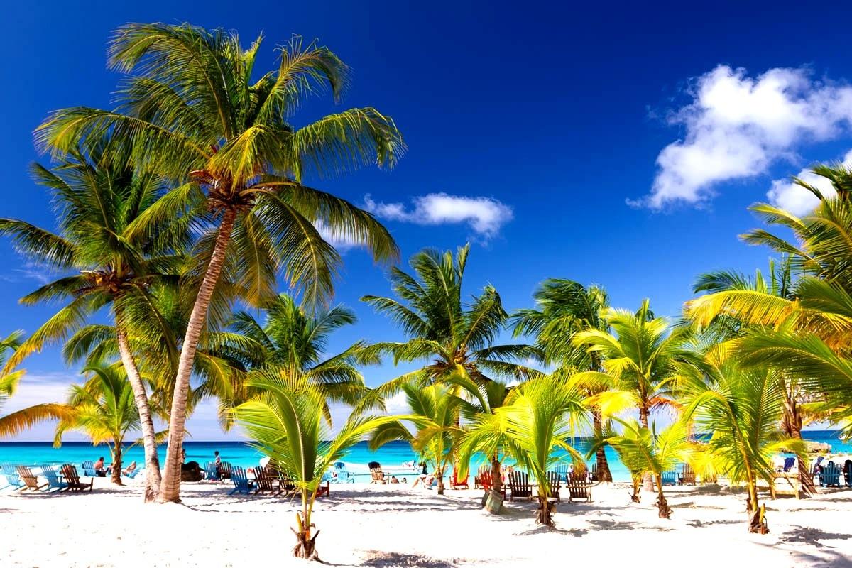 Фото пляжа Доминиканы