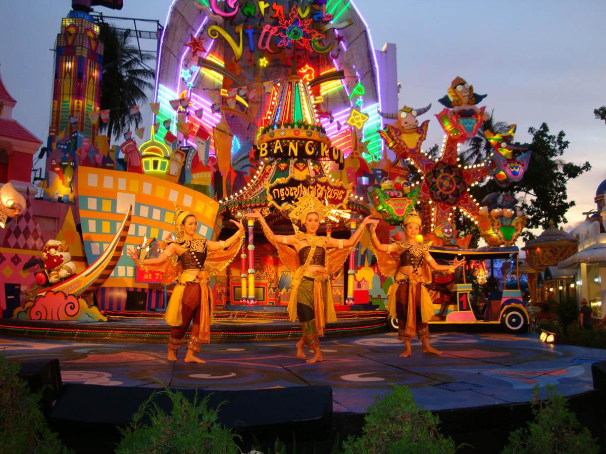 Фото шоу в Таиланде