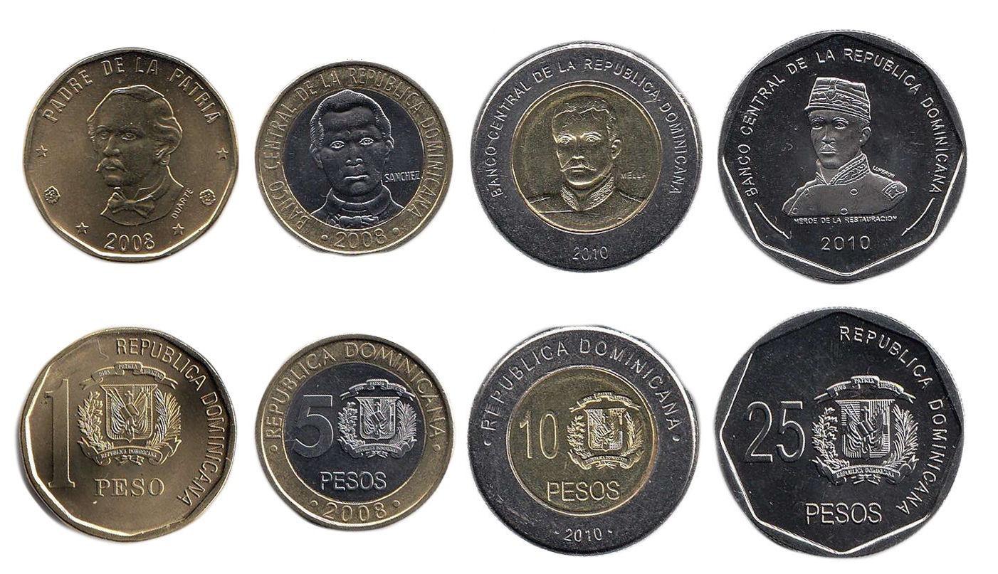 Фото монет Доминиканы