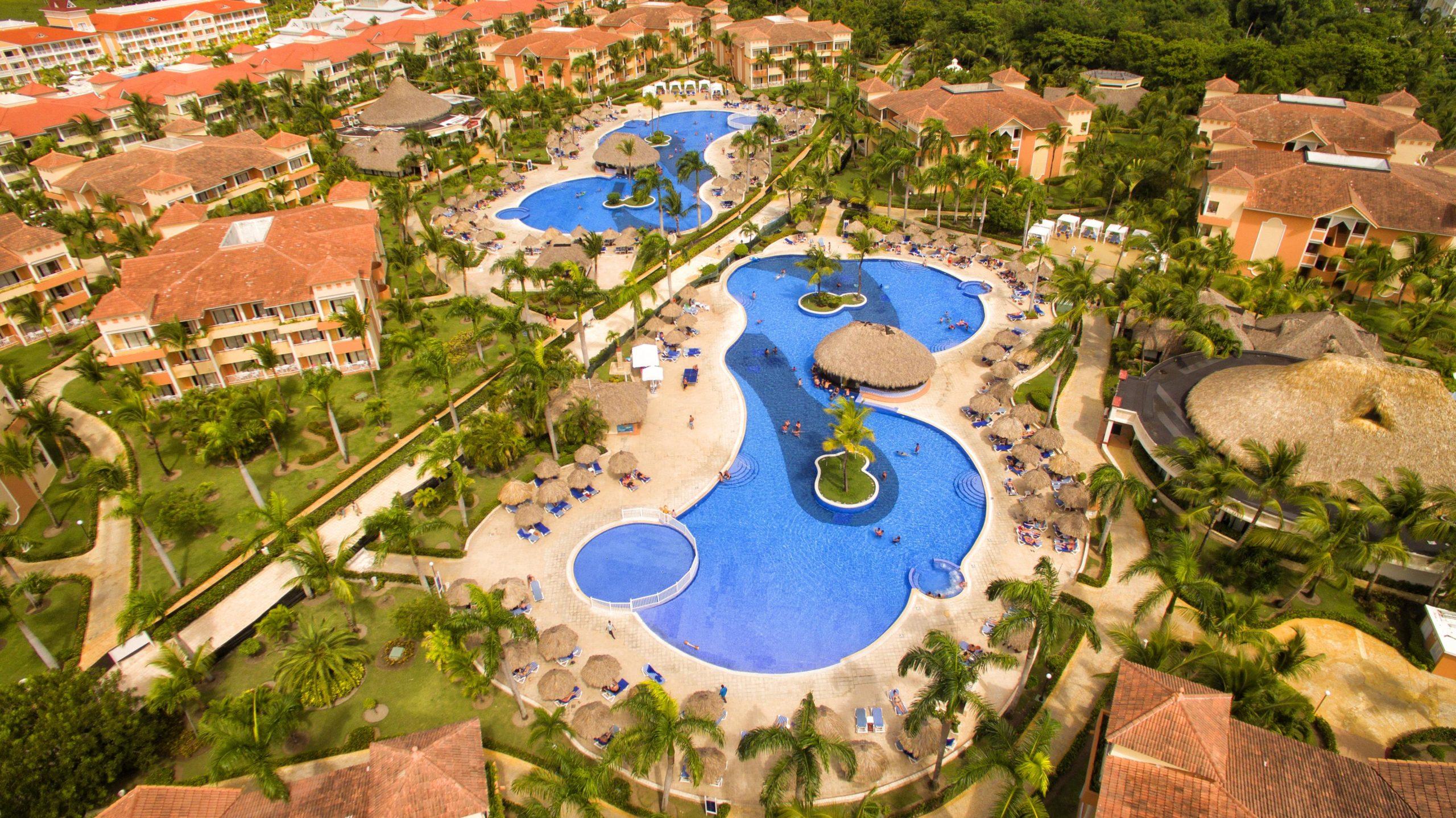 Фото отеля сверху