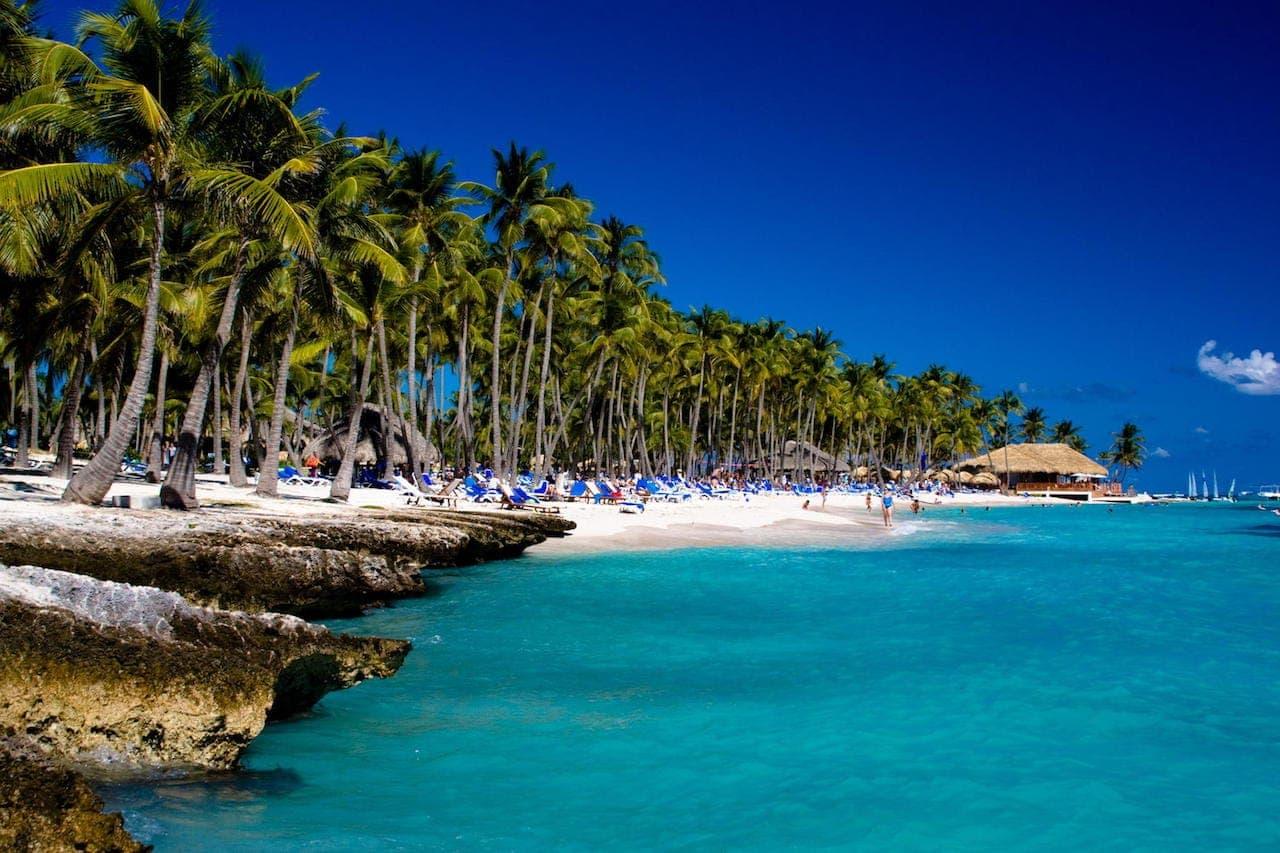 Карибское побережье Доминиканы