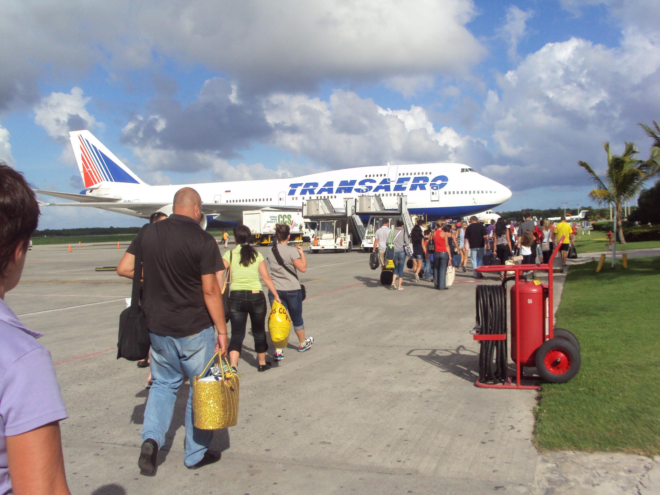 Длительность полёта из Москвы в Пунта-Кану