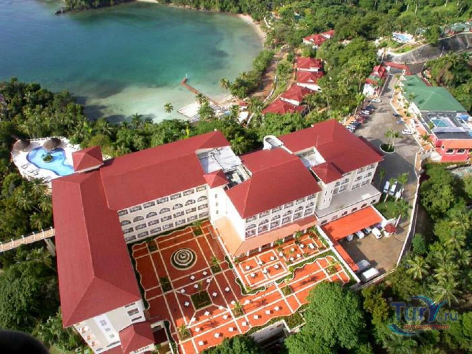 На фото гостиница Grand Bahia Principe Cayacoa 5*