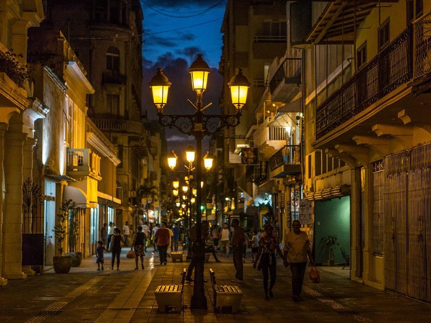 Ночной Санто-Доминго