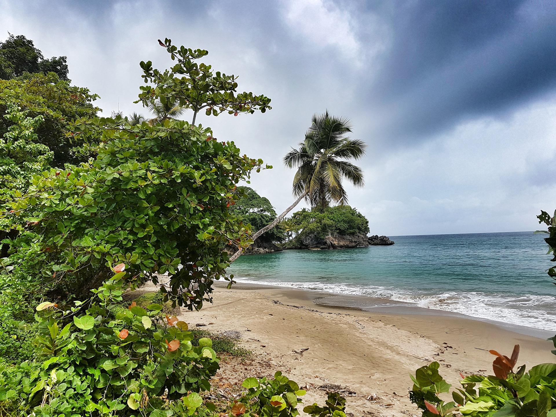 Погодные условия в октябре в разных частях Доминиканы