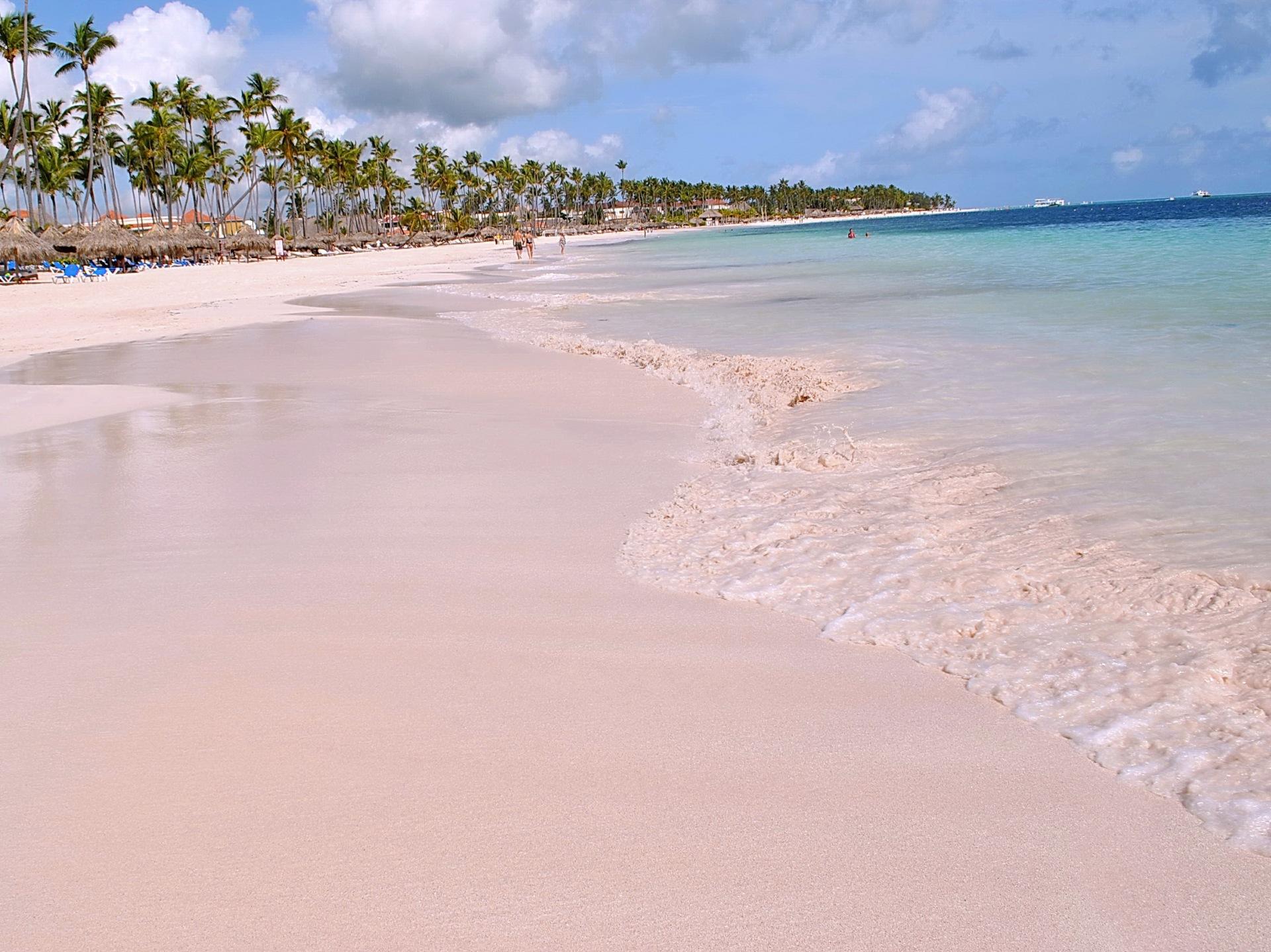 Море Доминиканы в октябре