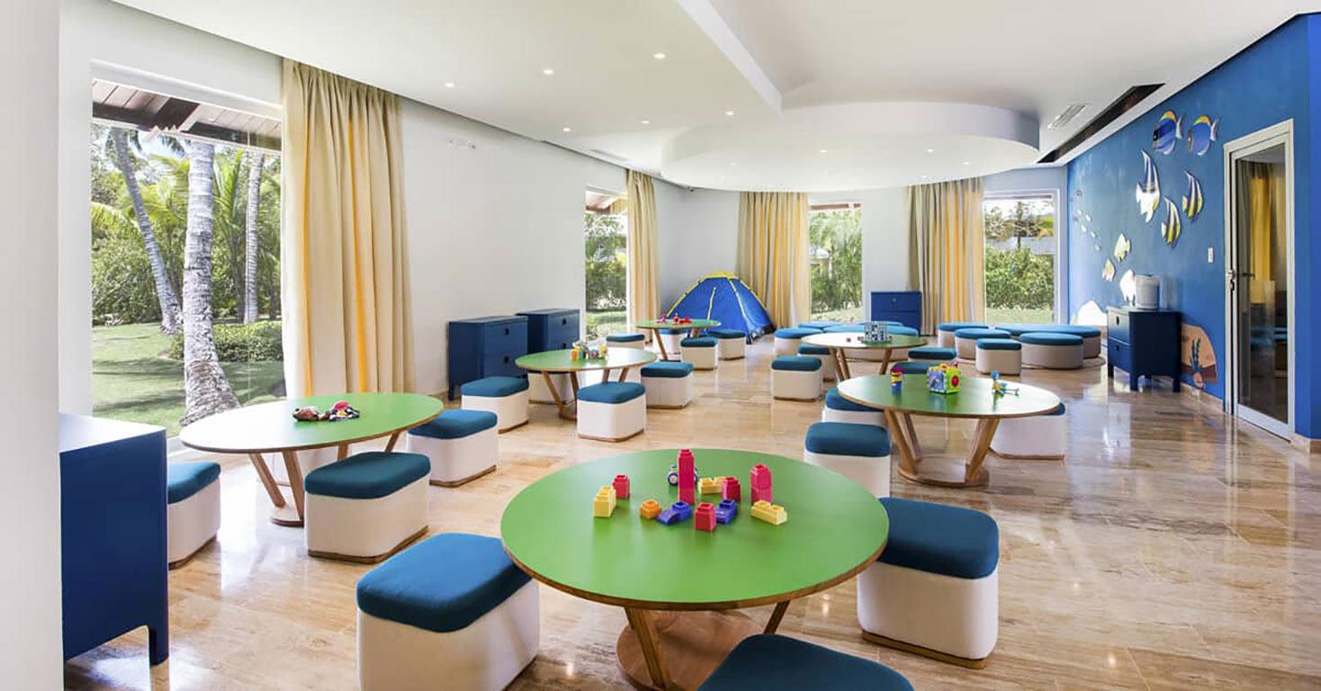 Детская комната в гостинице Мелия Карибы Тропикал