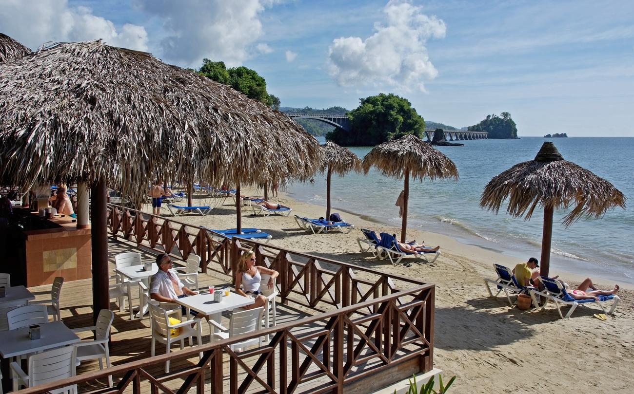 Пляж гостиницы Grand Bahia Principe Cayacoa 5*