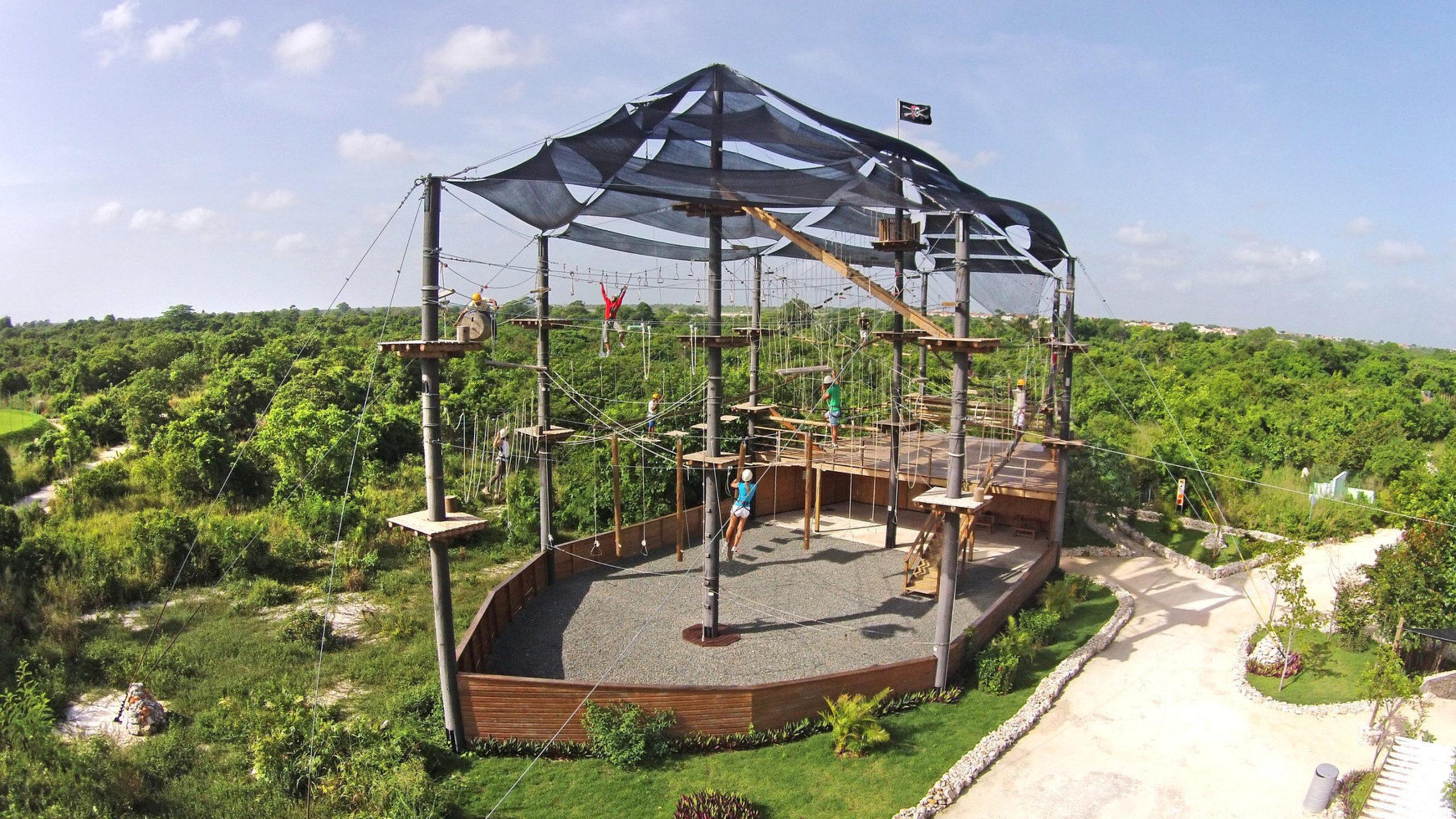 Уникальный Bavaro Adventure Park