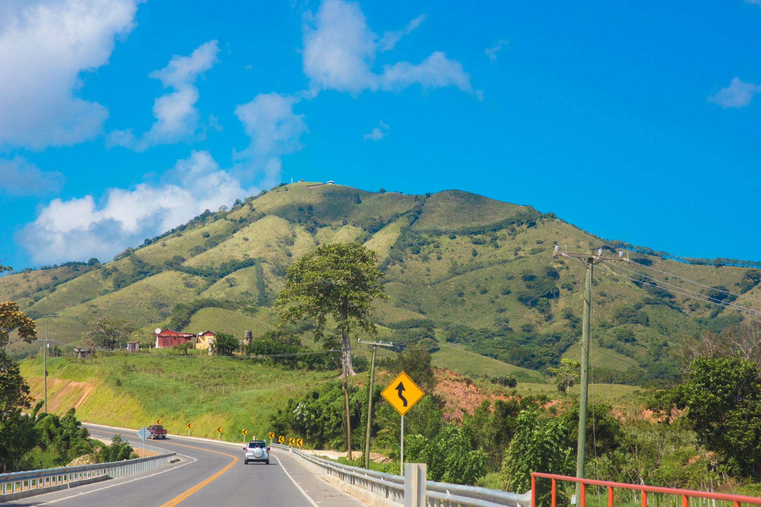 Уникальная гора Доминиканы