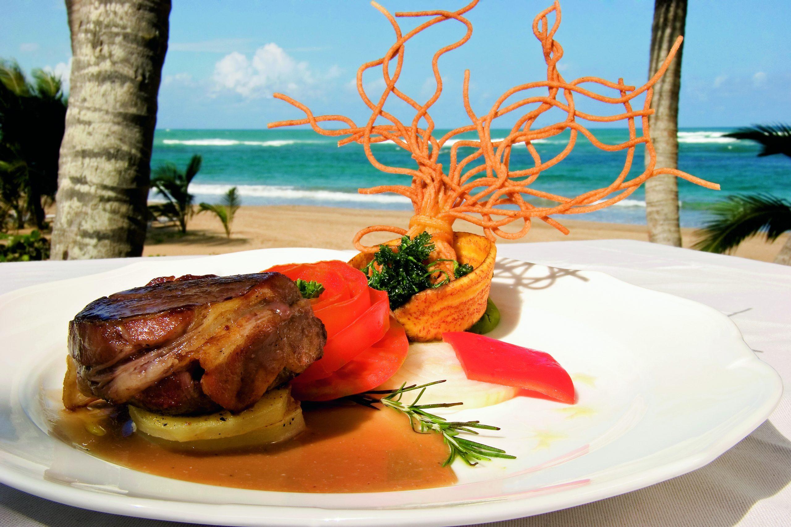 Еда в Доминикане