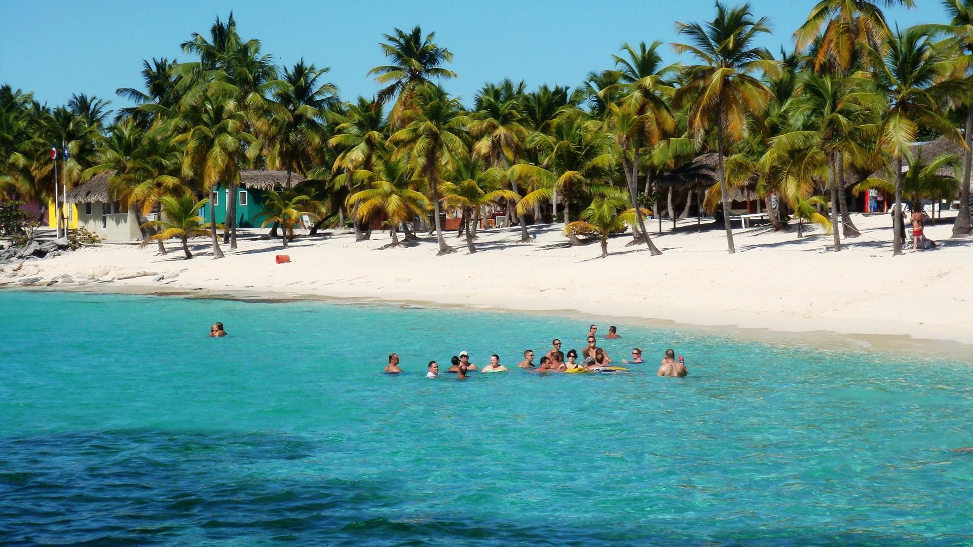 Пляжный отдых на острове