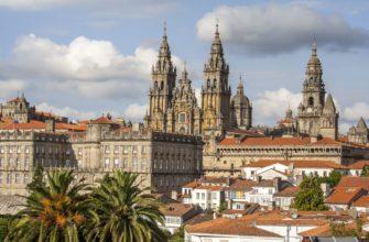 Обзор и история собора Сантьяго-де-Компостела