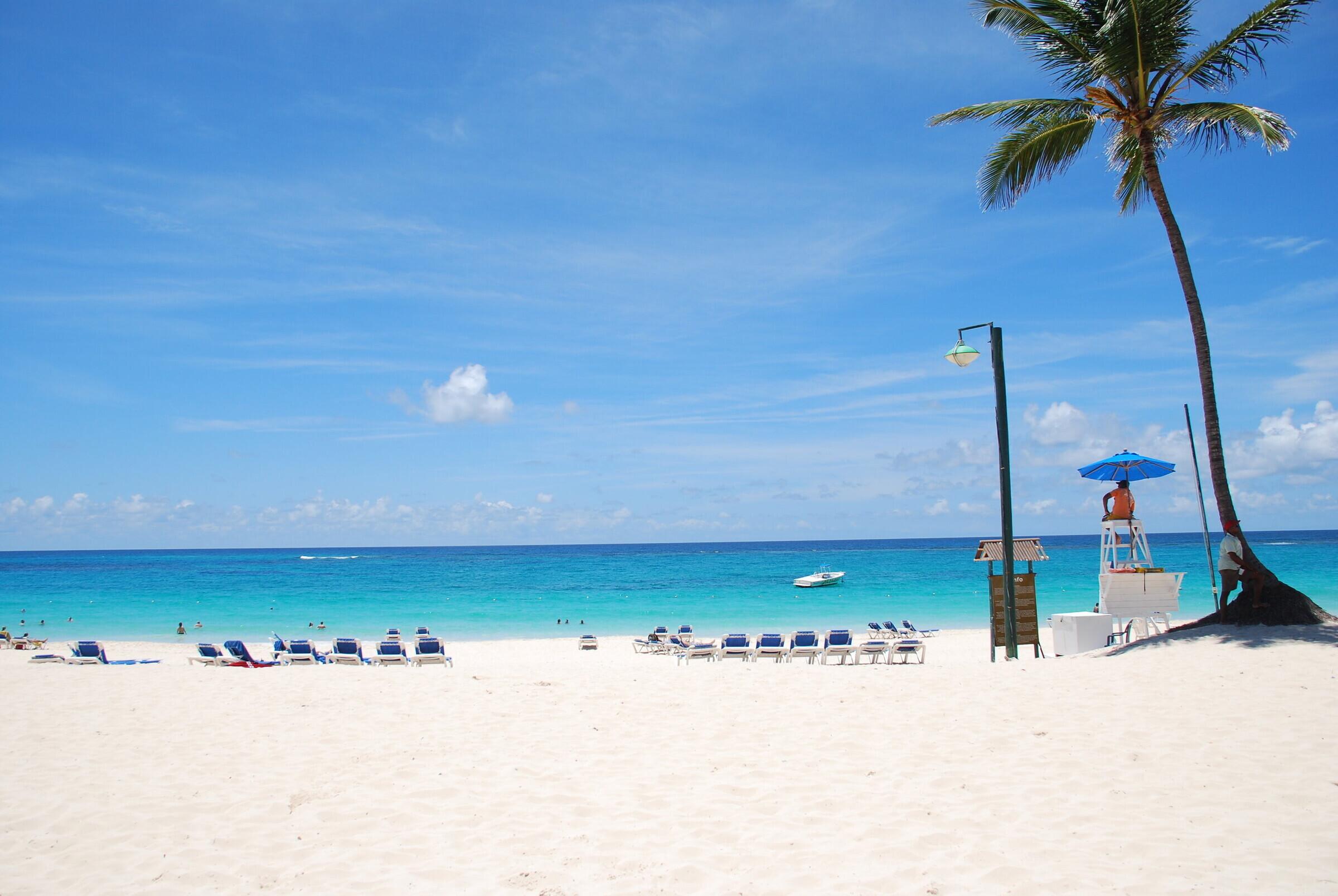 На фото пляж Арена Горда