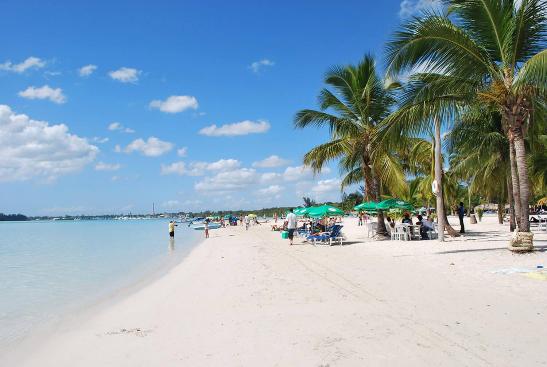 На фото пляж Гуаяканес