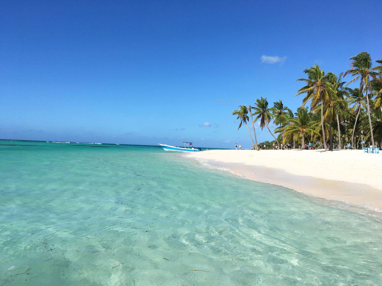 На фото пляжи Острова Саона
