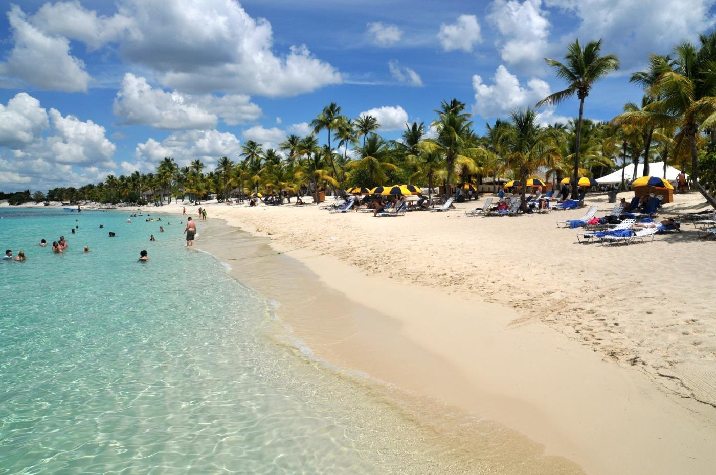 На фото пляж острова Каталина