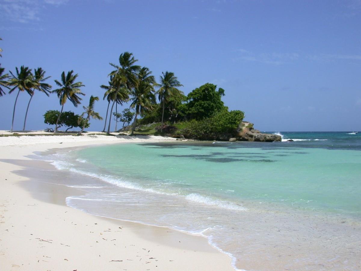На фото пляж Плайя Дорада
