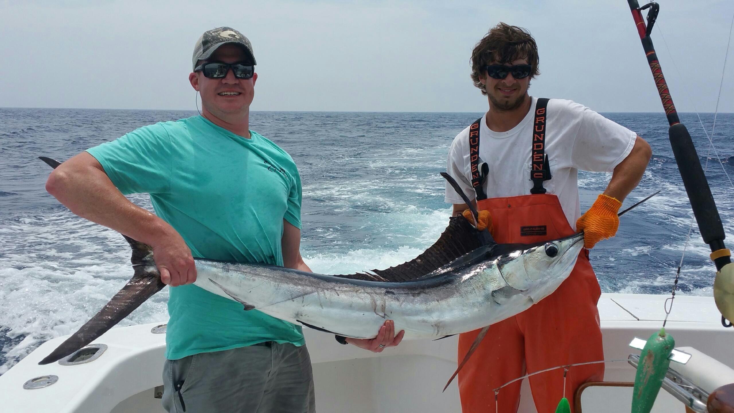 Какая рыба ловится в Доминикане