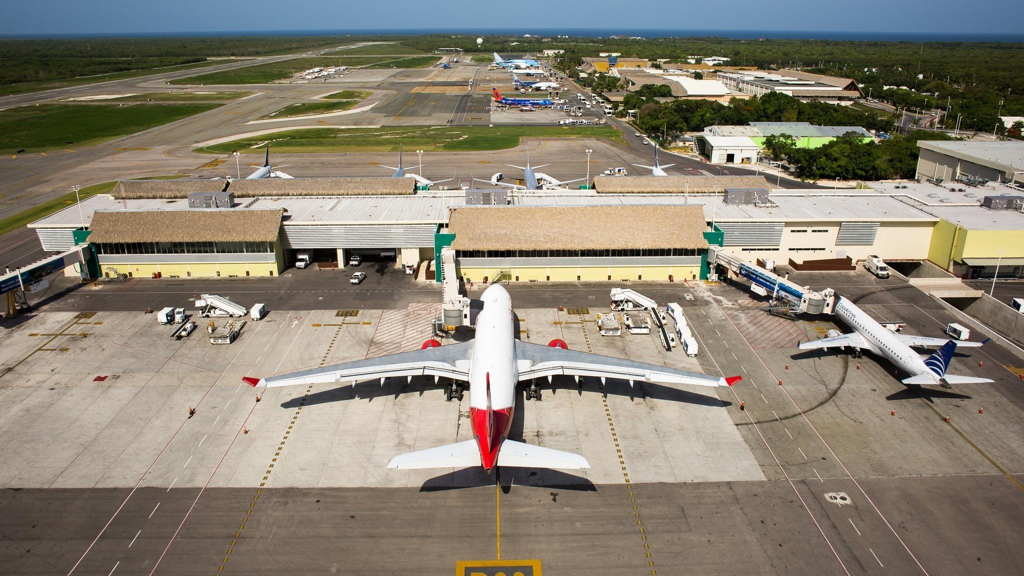 Фото самолета в Пунта Кану
