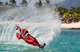 Фото празднования нового года в Доминикане