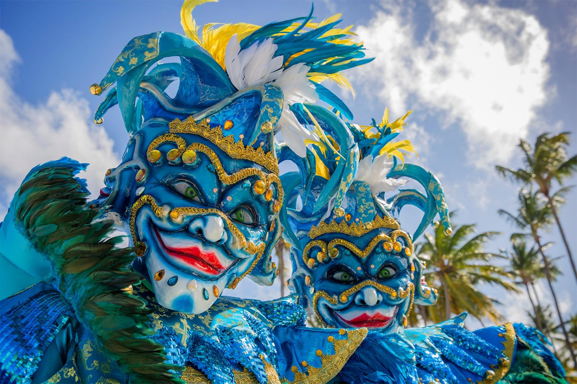 Фото карнавала в Пунта-Кане