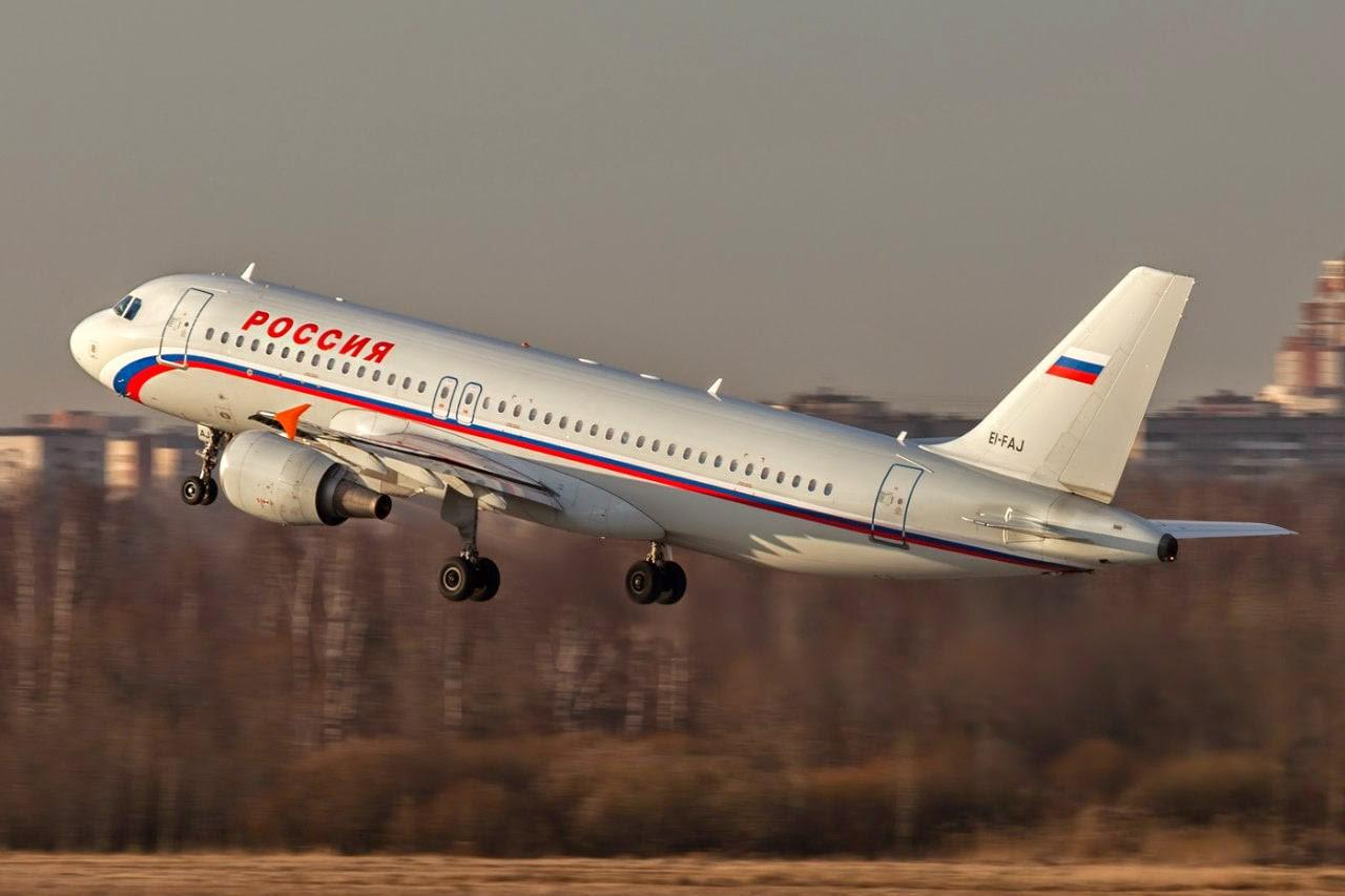 Фото самолета авиакомпании Россия