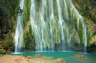 Фото водопада Эль Лимон в доминикане