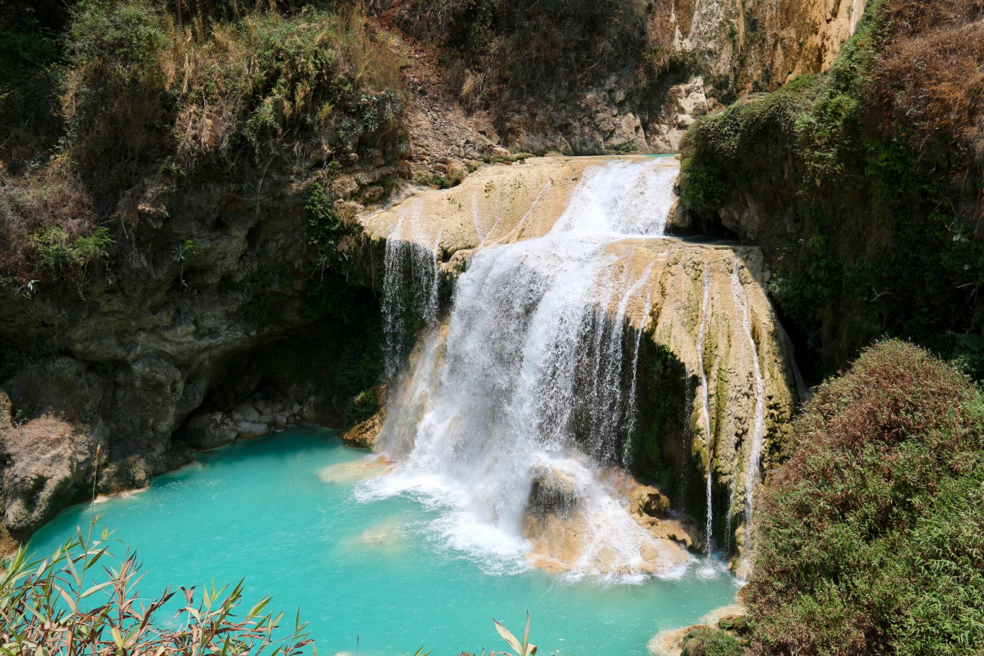 Фото водопада в Доминикане