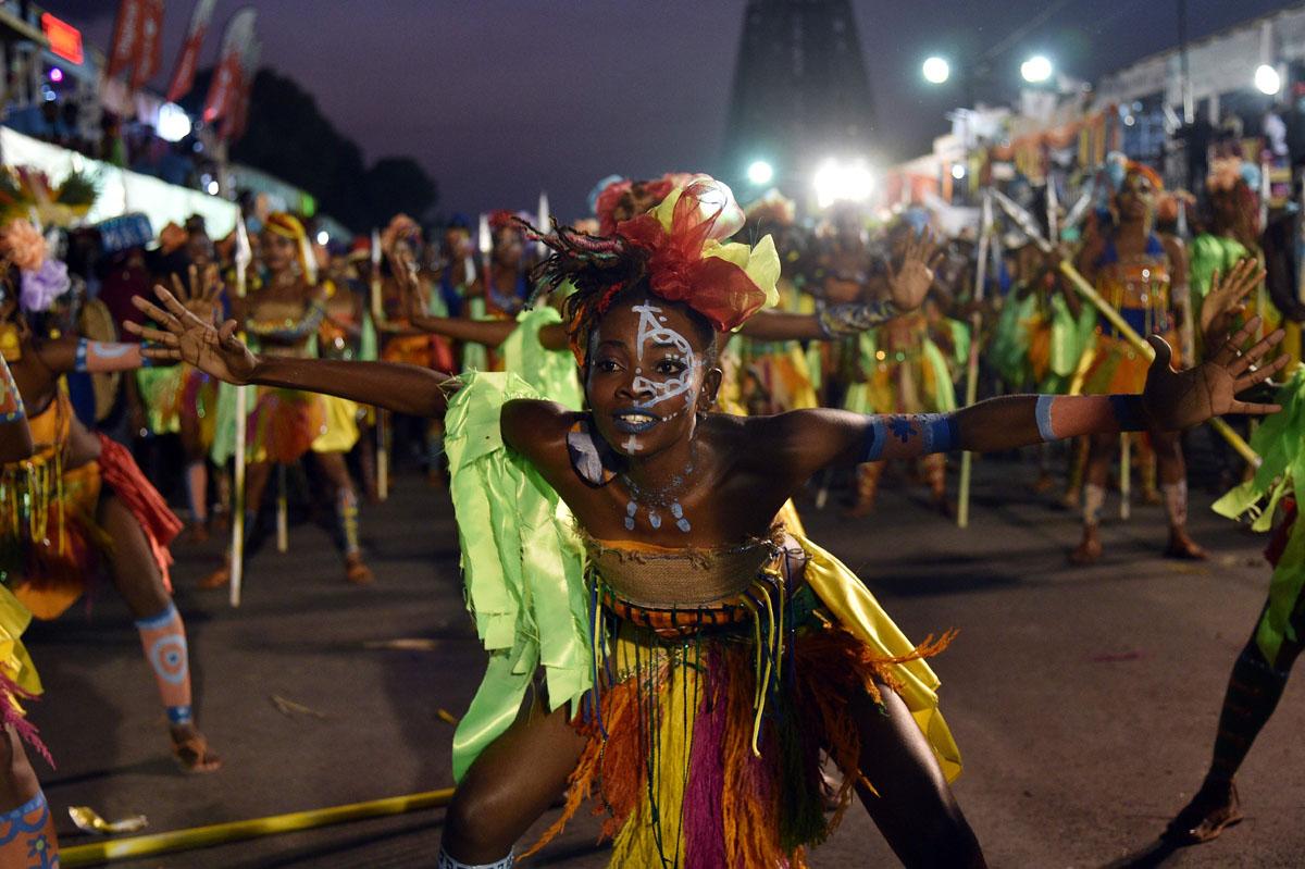Фото карнавала в Гаити