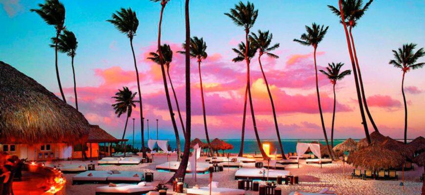Доминикана пальмы