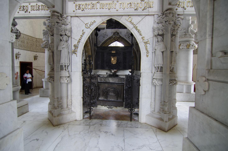 Фото могилы Колумба