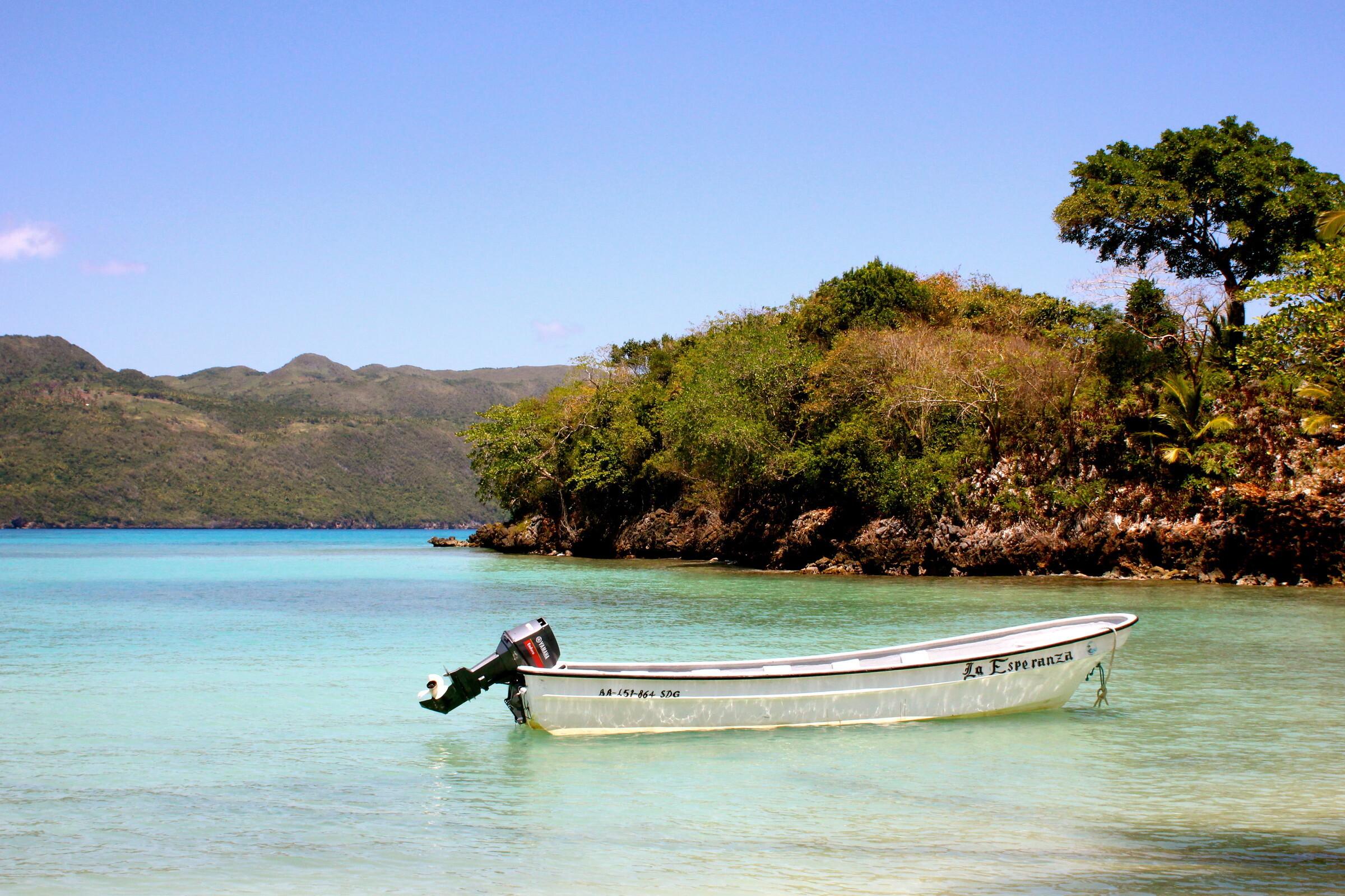 Фото лодки на Самане