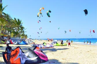Фото кайтсерфинга в Доминикане