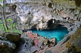 Фото пещеры в Доминикане