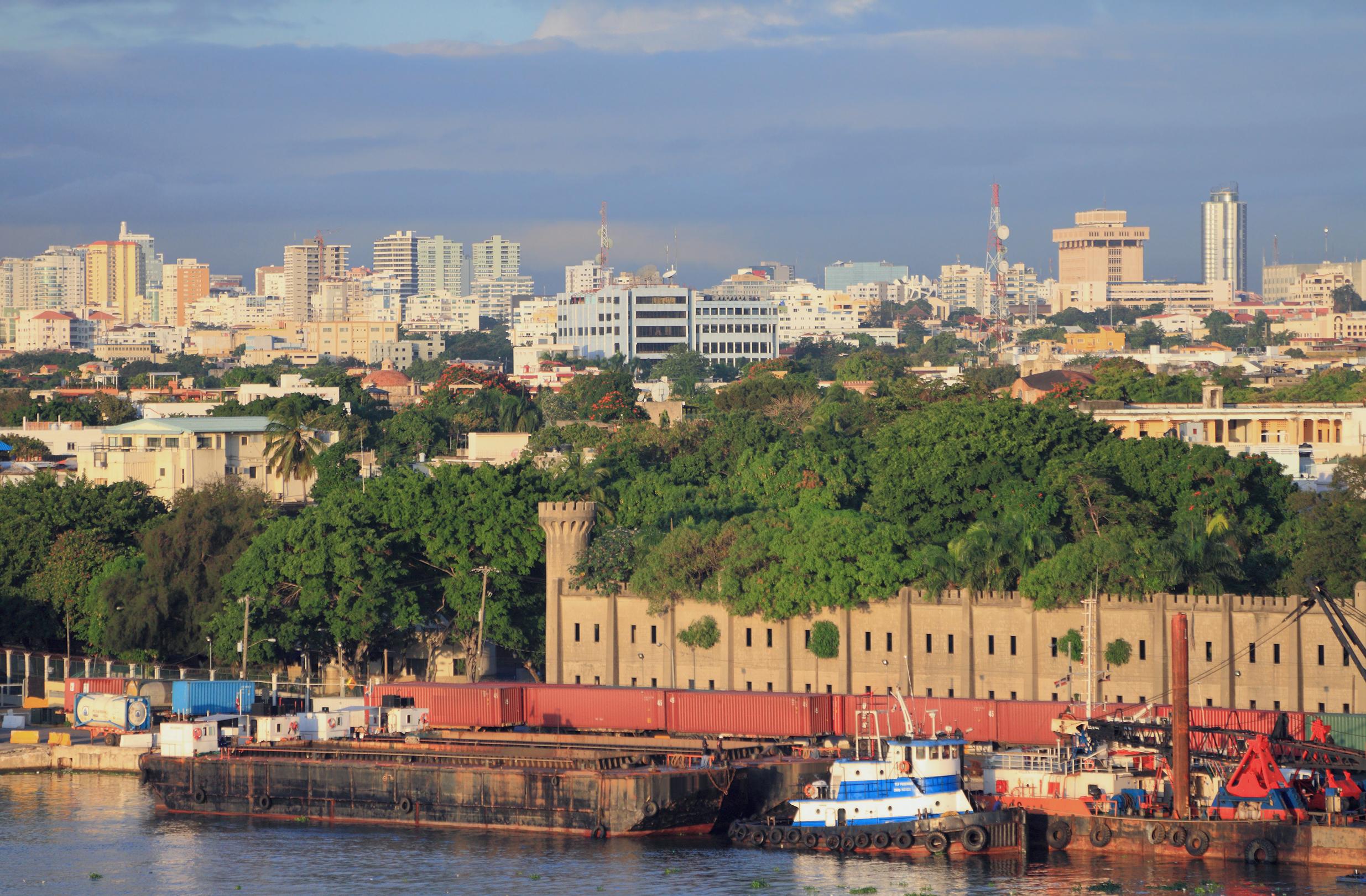 Фото порта в Санто-Доминго