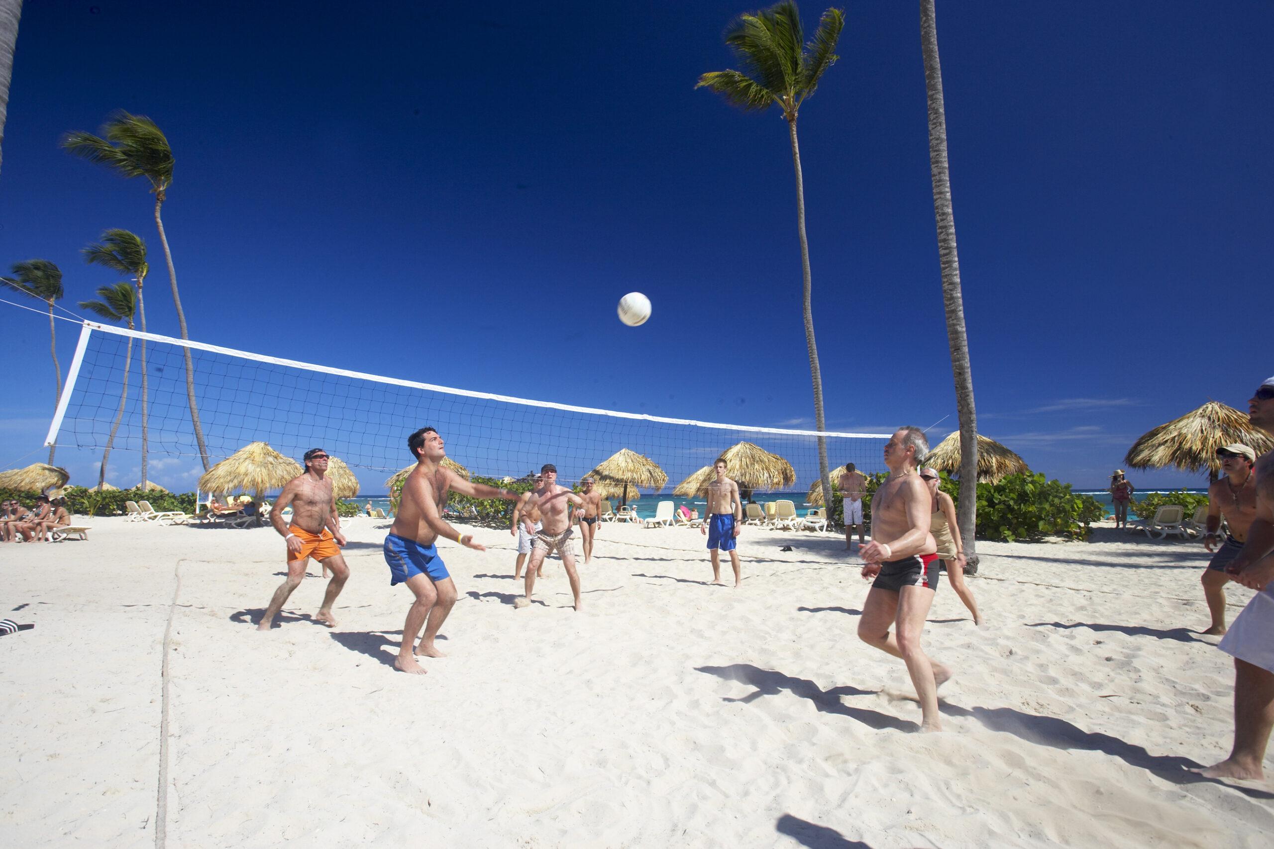 Фото пляжного волейбола