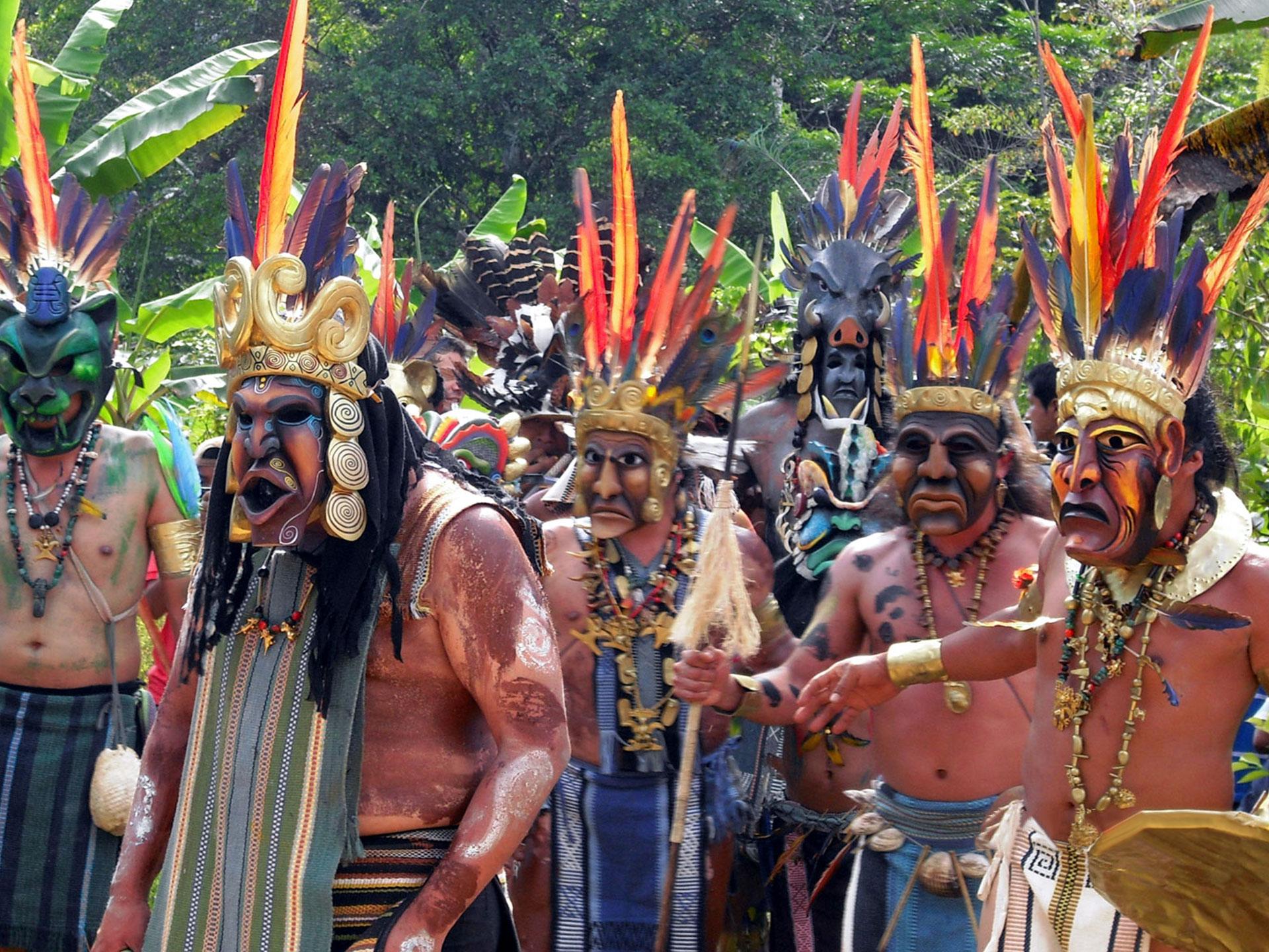 Фото индейцев Таино