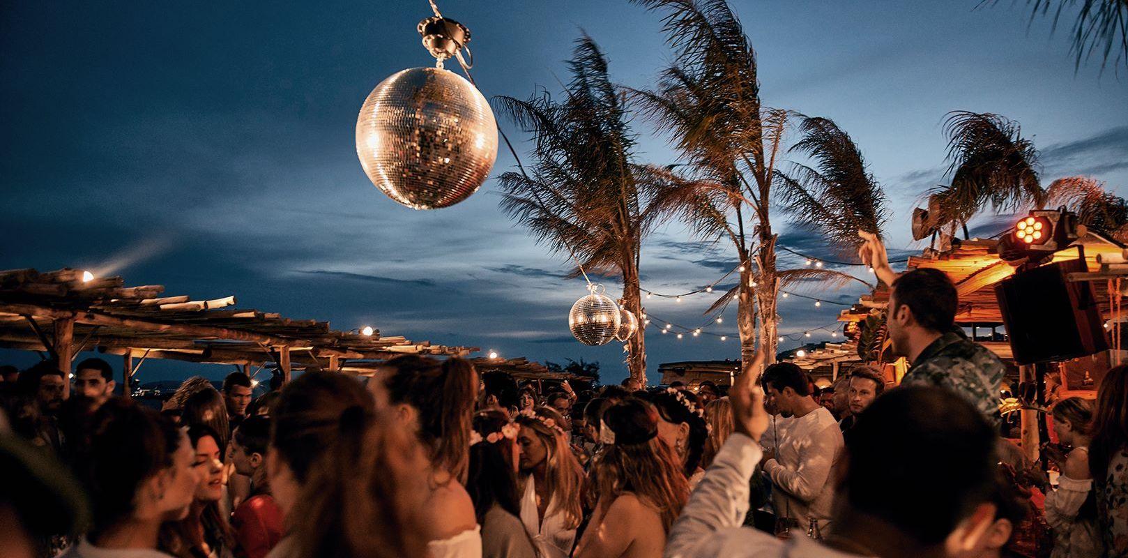 фото Доминикана ночью