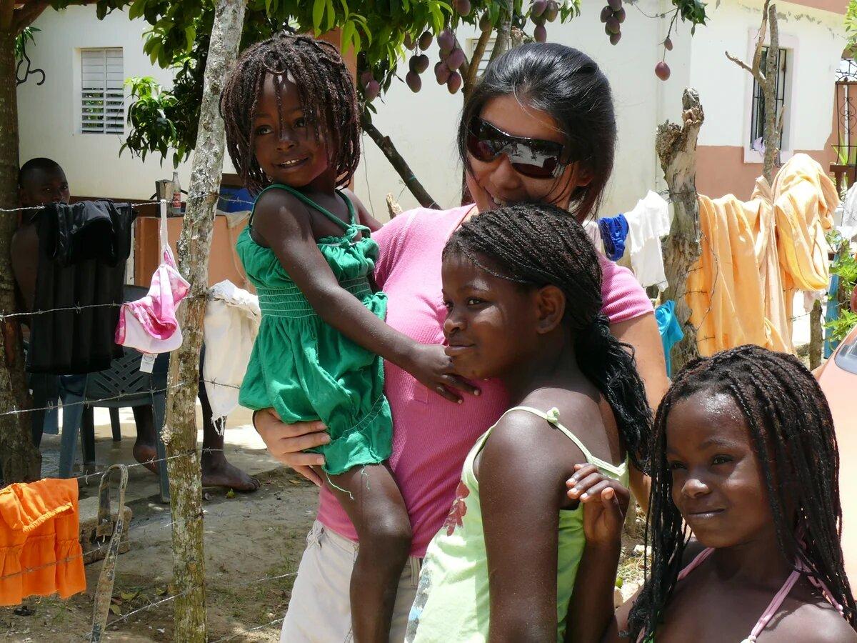 Фото людей из Доминиканы